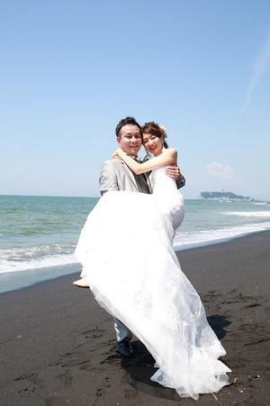 鎌倉海ロケ ドレス&タキシード