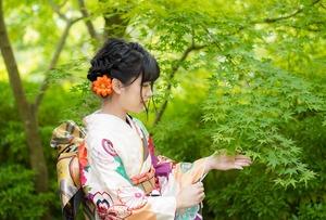 鎌倉宮ご祈祷プラン 成人式振袖 前撮り  ロケーションフォト5