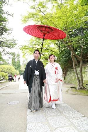 鎌倉円覚寺結婚式撮影