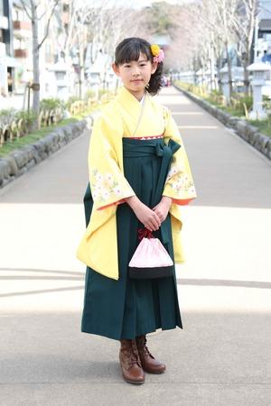 鎌倉小学生卒業袴 女児 (23)