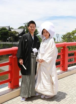 森戸大明神結婚式写真