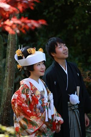 鎌倉海蔵寺婚礼写真