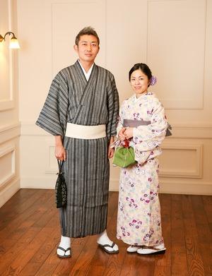 鎌倉 レンタル着物 記念日 写真 夫婦 1