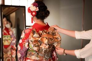 鎌倉宮成人式ご祈祷 振袖前撮り ロケーションフォト2