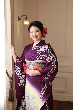 鎌倉成人振袖写真1