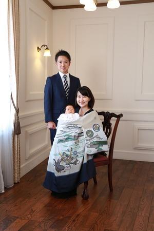 鎌倉お宮参り写真
