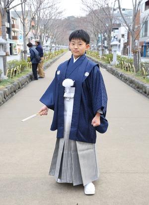 鎌倉 小学生男子 卒業袴 写真12
