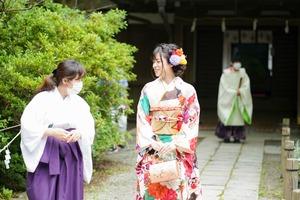 鎌倉宮ご祈祷プラン 成人式振袖 前撮り  ロケーションフォト7