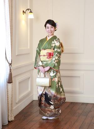 鎌倉成人振袖スタジオ写真