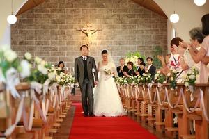 カトリック由比ガ浜教会結婚式8