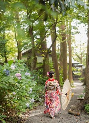 鎌倉宮成人式ご祈祷 振袖前撮り ロケーションフォト17