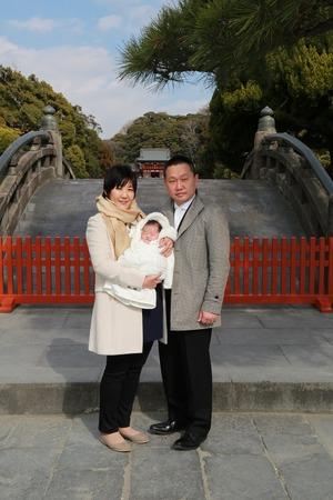鶴岡八幡宮お宮参りロケーション写真 (2)