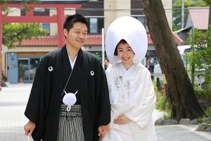 森戸大明神婚礼ロケーション撮影