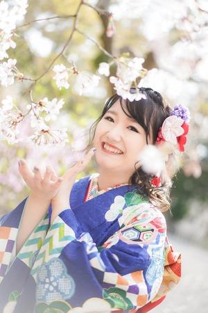 鎌倉宮 成人式振袖 ご祈祷 ロケーションフォト9