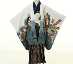 鎌倉七五三 5歳男子 着物レンタル 2069