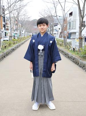 鎌倉 小学生男子 卒業袴 写真19