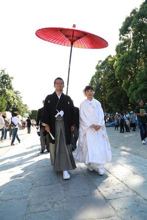 鶴岡八幡宮結婚式2