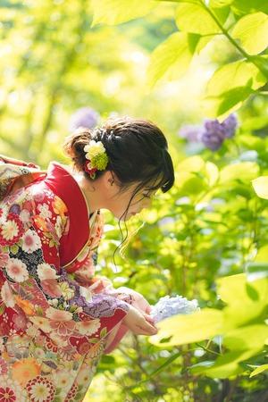 鎌倉宮成人式ご祈祷 振袖前撮り ロケーションフォト18