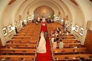 カトリック由比ガ浜教会結婚式4