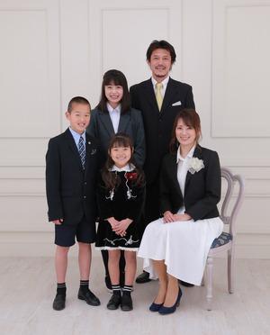 鎌倉 逗子 葉山 入学記念写真 家族フォト