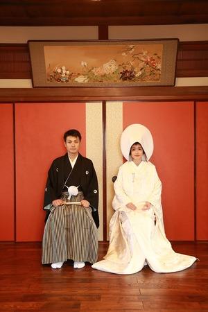 屋内写真 前撮り 鎌倉結婚式