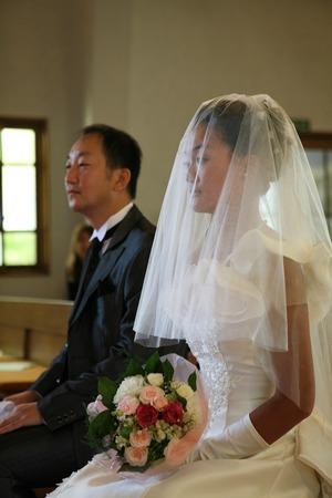 カトリック由比ガ浜教会結婚式5