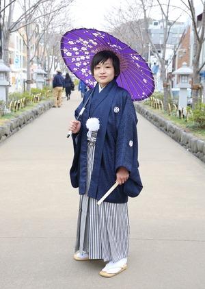 鎌倉 小学生男子 卒業袴 写真13