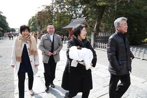 鶴岡八幡宮お宮参りロケーション写真 (1)
