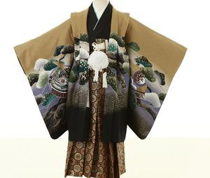 鎌倉七五三 5歳男子 着物レンタル 2320