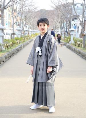 鎌倉 小学生男子 卒業袴 写真10