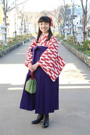 鎌倉小学生卒業袴 女児 (7)