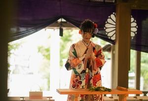 鎌倉宮ご祈祷プラン 成人式振袖 前撮り  ロケーションフォト9
