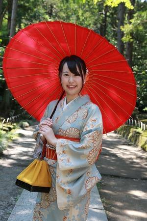 鎌倉レンタル着物写真
