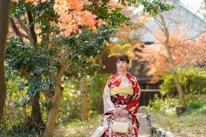 鎌倉 成人式前撮り 紅葉ロケーションフォト(2)