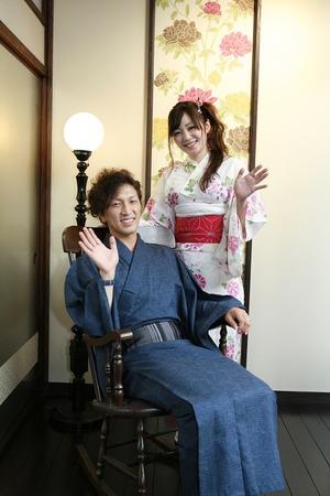 鎌倉浴衣写真