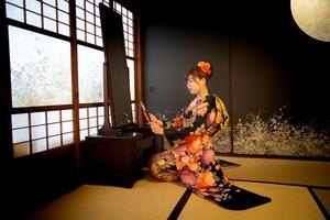 成人前撮り 成人振袖写真 鎌倉成人式