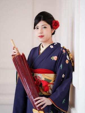 成人式 ママ振袖 鎌倉写真館