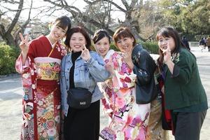 鎌倉 振袖前撮り ロケーションフォト 家族写真館