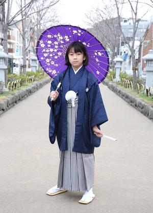鎌倉 小学生男子 卒業袴 写真7