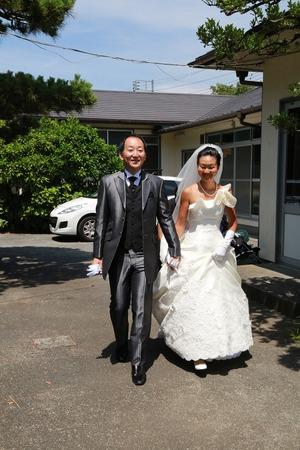 カトリック由比ガ浜教会結婚式2