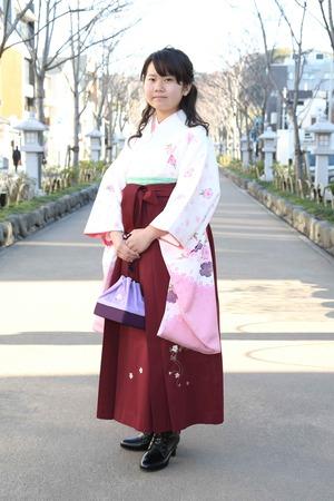 鎌倉小学生卒業袴 女児 (4)