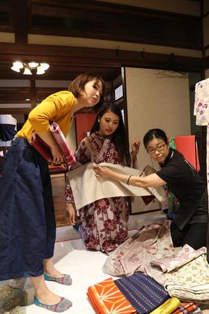鎌倉着物散策写真2 (2)