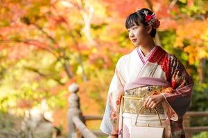 紅葉 成人式前撮り ロケーションフォト 鎌倉
