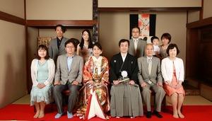 スタジオ写真 鎌倉家族写真