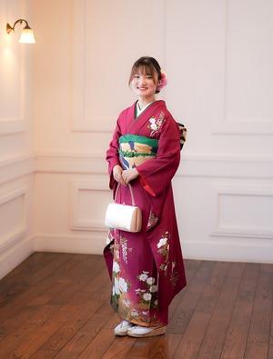 フォトスタジオ鎌倉 成人式 前撮り  ママ振袖