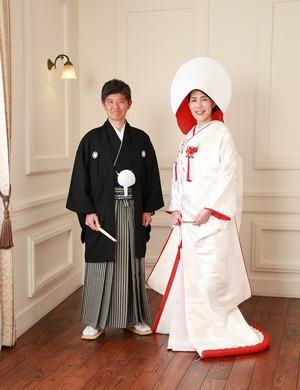 鎌倉和装結婚式スタジオ写真