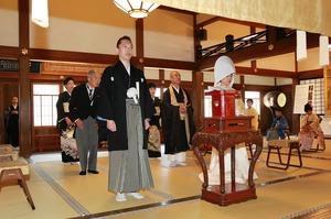 円覚寺結婚式写真方丈