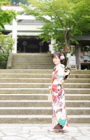 鎌倉宮ご祈祷プラン 成人式振袖 前撮り  ロケーションフォト4