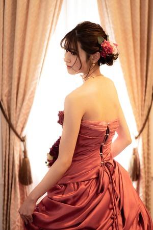 成人式 前撮り 振袖 ドレス10