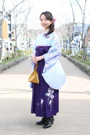 鎌倉小学生卒業袴 女児 (21)